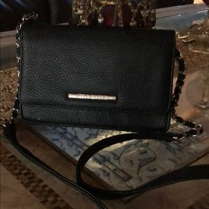 Steven madden side going out leather purse